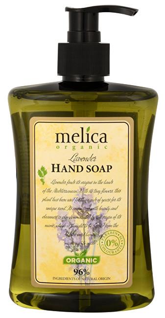 Melica Tekuté mýdlo na ruce s extraktem levandule 500 ml
