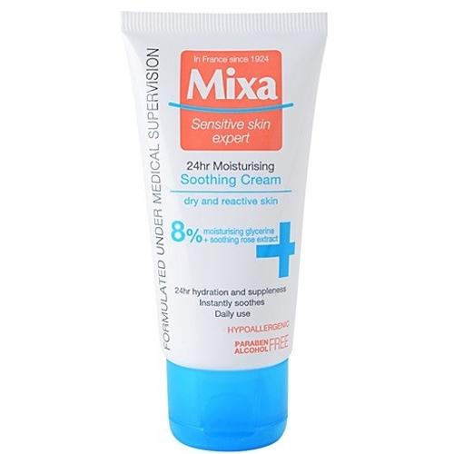 Mixa 24h lehký vyvažující hydratační krém pro suchou pleť (Dry And Reactive skin) 50 ml