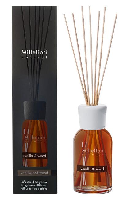 Millefiori Milano Aroma difuzér Natural Vanilka a dřevo 250 ml