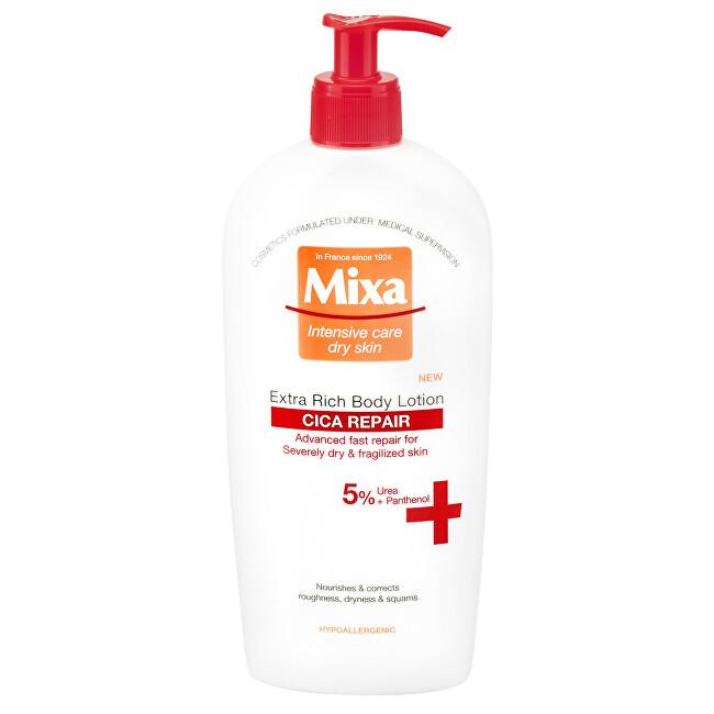 Mixa Bohaté tělové mléko pro citlivou pleť Cica Repair (Extra Rich Body Lotion) 400 ml