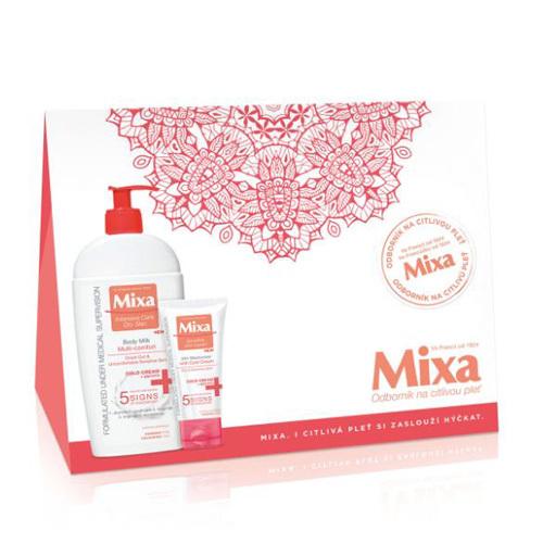 Mixa Dárková sada Cold Cream Tělové mléko 400 ml & 24h hydratační krém 50 ml