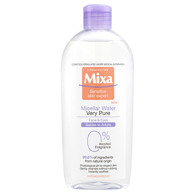 Mixa Micelární voda Micellar Water Very Pure 400 ml