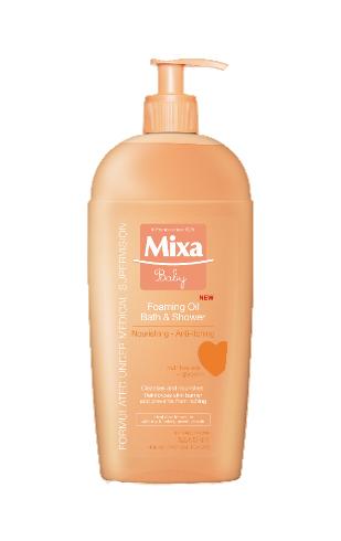 Mixa Pěnivý Baby olej do koupele 400 ml
