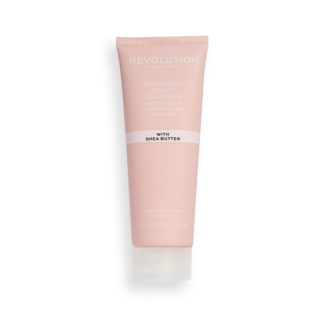 Revolution Arctisztító krém  Revolution Skincare (Hydration Boost Cleanser) 125 ml