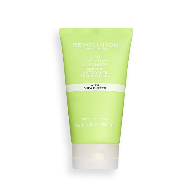 Revolution Skincare Čisticí pleťová pěna Revolution Skincare (CBD Soft Foam Cleanser) 150 ml