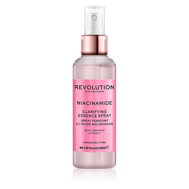 Revolution Čistiaci pleťový sprej Skincare Niacínamid ( Clarifying Essence Spray) 100 ml