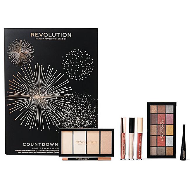 Revolution Makeup NYE Countdown Calendar kalendář odpočítávání do Nového roku