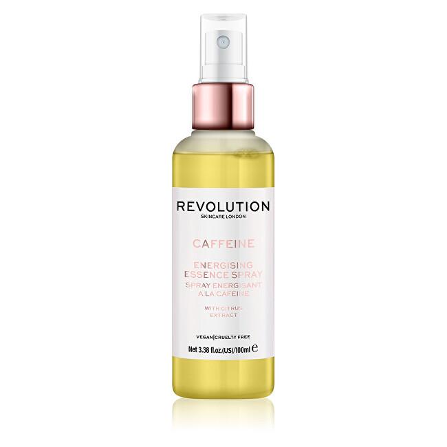 Revolution Energizujúci pleťový sprej Skincare Caffeine (Energising Essence Spray) 100 ml