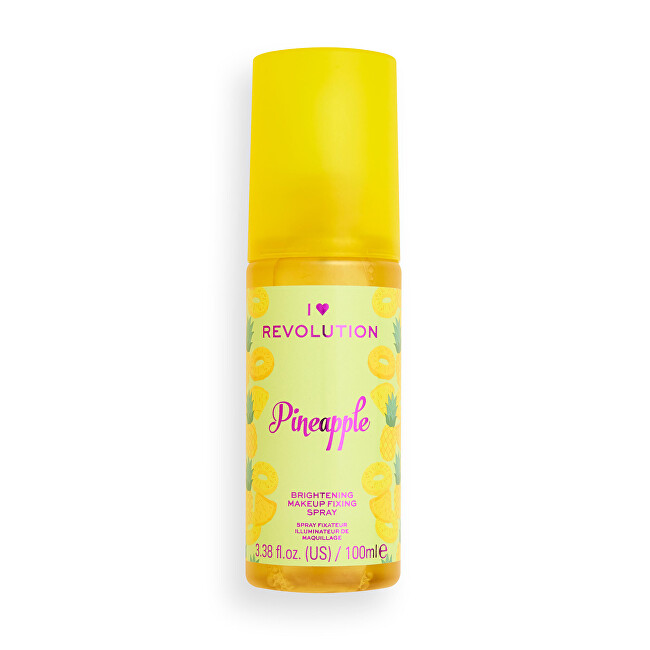 Revolution Fixačný sprej na make-up Aj ♥ Revolution Pineapple (Brightening Makeup Fixing Spray) 100 ml