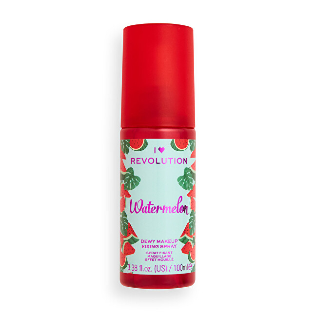I Heart Revolution Fixačný sprej na make-up Aj ♥ Revolution Watermelon (Dewy Makeup Fixing Spray) 100 ml