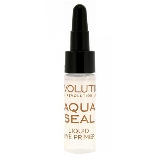 Makeup Revolution Aqua Seal fixátor očních stínů a podkladová báze 2v1 5,5 ml