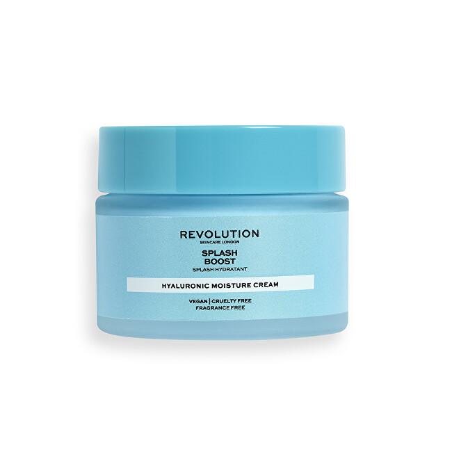 Revolution Skincare Hydratační krém Revolution Skincare (Splash Boost with Hyaluronic Acid) 50 ml