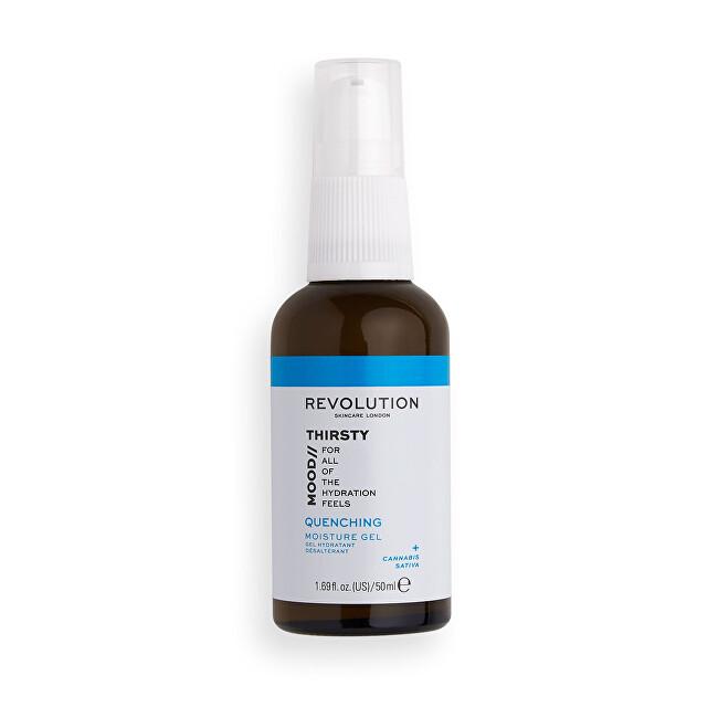 Revolution Hydratační pleťový gel Skincare Mood Thirsty (Quenching Moisture Gel) 50 ml