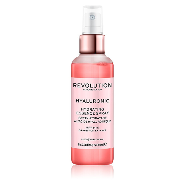Revolution Hydratační pleťový sprej Skincare Hyaluronic (Hydrating Essence Spray) 100 ml