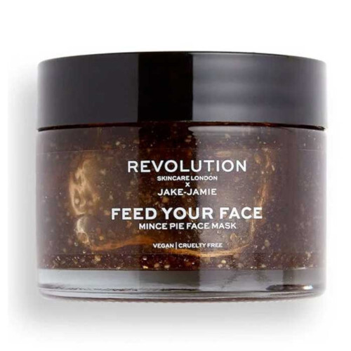 Revolution Maska na obličej pro suchou pleť Revolution Skincare x Jake  Jamie Feed Your Face Mince Pie Face Mask 50 ml