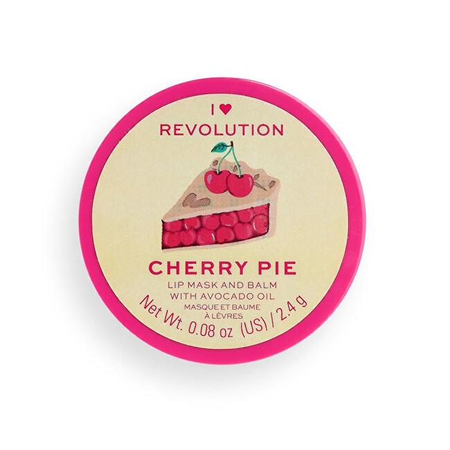 Revolution Maska na pery Cherry Pie (Lip Mask and Balm) 2,4 g
