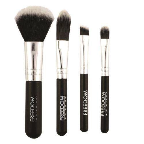 Makeup Revolution Mini sada štětců ze syntetických vláken (Freedom)