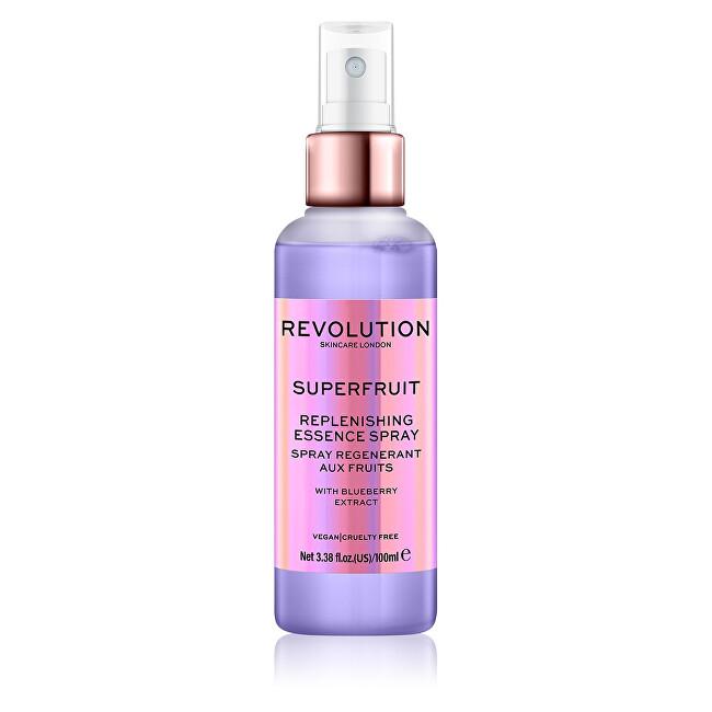 Revolution Vypĺňajúci pleťový sprej Skincare superfruit (Replenishing Essence Spray) 100 ml