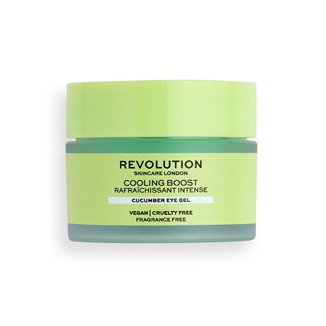 Revolution Szemkörnyékápoló Skincare Cooling Boost (Cucumber Eye Gel) 15 ml