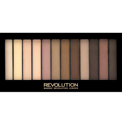 Makeup Revolution Essential Mattes 2 paletka očních stínů 14 g