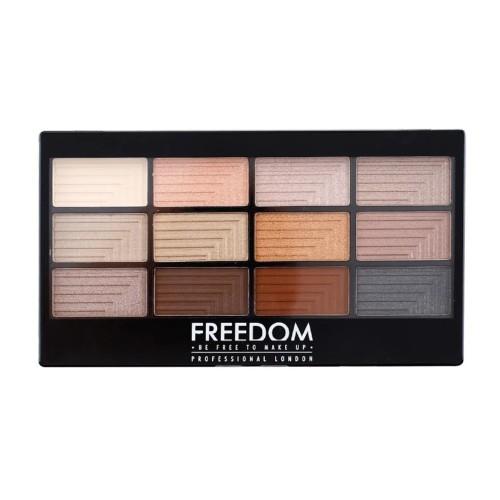 Freedom Paletka 12 očních stínů Freedom Le Fabuleux 12 g