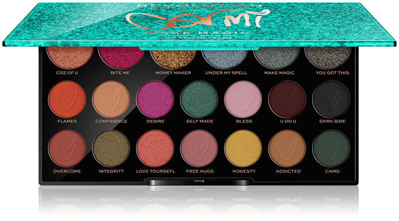 Revolution Paletka očných tieňov Carmi Make Magic (Shadow Palette) 16,9 g