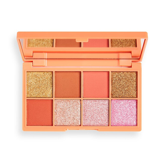 Revolution Paletka očných tieňov Mini Tasty Peach (Shadow Palette) 10,8 g