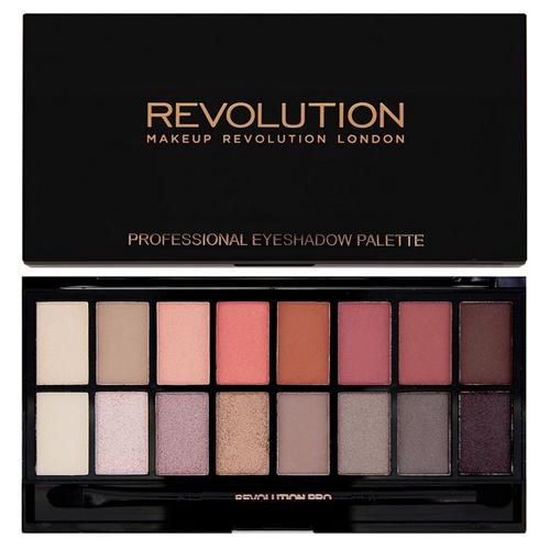 Makeup Revolution paletka očních stínů New trals vs Neutrals