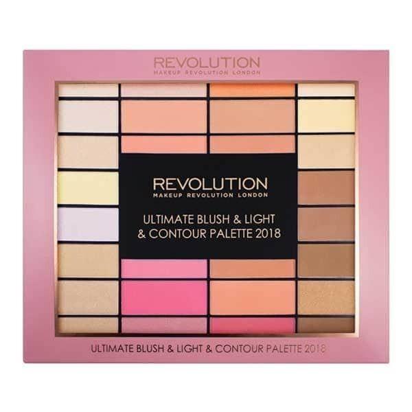 Makeup Revolution Blush, Light & Contour Vánoční Paletka