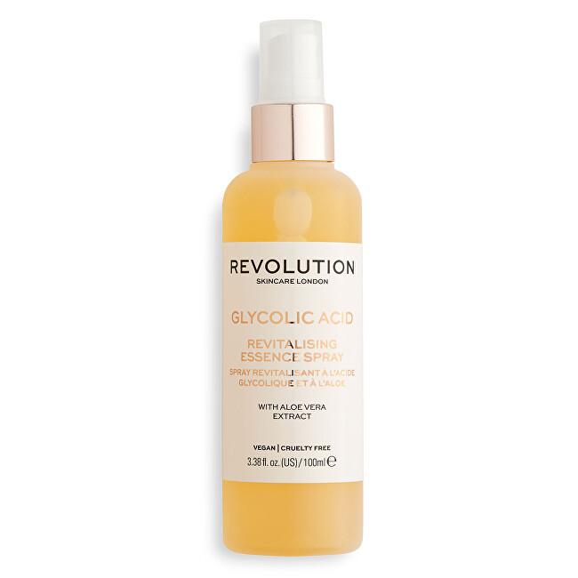 Revolution Pleťový sprej Glycolic & Aloe Scincare (Revitalising Essence Spray) 100 ml