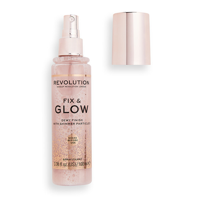 Revolution Fixačný sprej na makeup Fix & Glow 100 ml