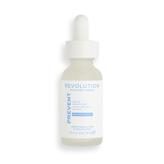 Revolution Skincare Pleť ové sérum Prevent Willow Bark Extract (Gentle Blemish Serum) 30 ml