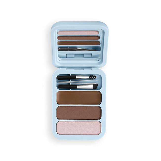 Makeup Obsession Súprava na úpravu obočia Makeup Obsession (Brow Goals Kit Light To Medium Brow) 4,2 g