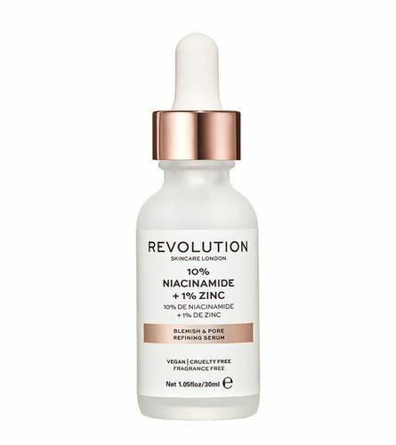 Makeup Revolution Sérum na rozšířené póry se zinkem (Blemish and Pore Refining Serum) 30 ml