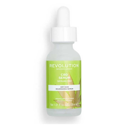Revolution Sérum pro suchou pleť Revolution Skincare CBD Serum Nourishing Serum 30 ml