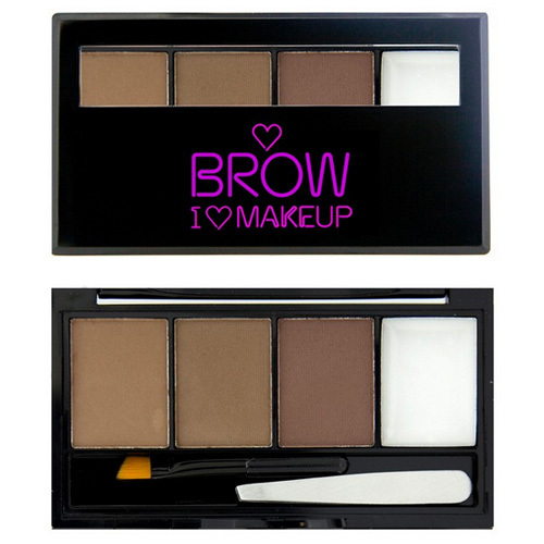 Makeup Revolution I Love Make-up Brows Kit I Woke Up This Groomed 3 g