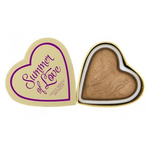 Fotografie Makeup Revolution Srdcový bronzer Letní I LOVE MAKEUP (Hearts Bronzer Summer of Love) 10 g