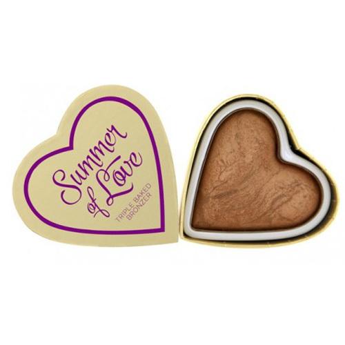 Fotografie I Heart Revolution Summer of Love bronzující pudr odstín Summer of Love 10 g