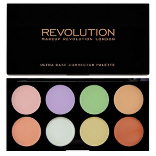 Makeup Revolution Ultra korektorová paletka Ultra Base Corrector palette
