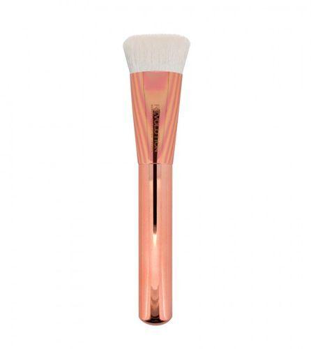 Makeup Revolution Ultra metalický štetec na kontúry tváre F304 Ultra Metals Flat Contour Brush