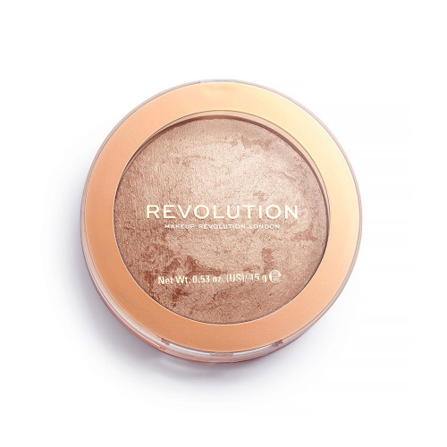 Revolution Zapečený bronzer Revolution Re-Loaded Holiday Romance (Powder Bronzer) 15 g