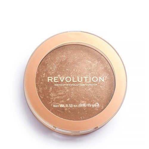 Revolution Zapečený bronzer Revolution Re-Loaded Long Weekend (Powder Bronzer) 15 g