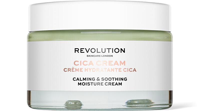 Revolution Zklidňující pleťový krém Cica Cream (Calming & Soothing Moisture Cream) 50 ml