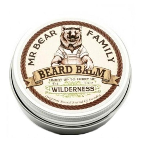 Mr. Bear Balzám na fúzy Wilderness (Beard Balm) 60 ml