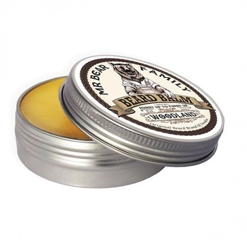 Mr. Bear Balzam na fúzy Woodland (Beard Balm) 60 ml