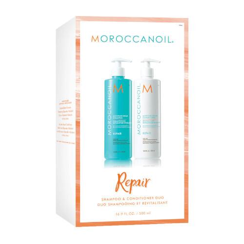 Moroccanoil Repair regenerační šampon 500 ml + hydratační kondicionér 500 ml dárková sada