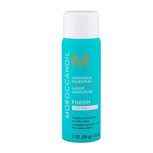 Moroccanoil Lak na vlasy se středně silnou fixací pro ženy Luminous (Hairspray Finish Medium) 75 ml