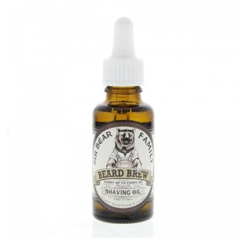 Mr. Bear Olej na holení pro muže (Beard Brew Shaving Oil) 30 ml