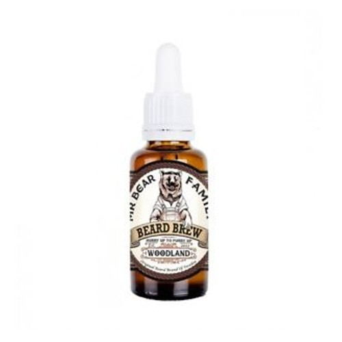 Mr. Bear Olej na fúzy Woodland (Beard Brew) 30 ml