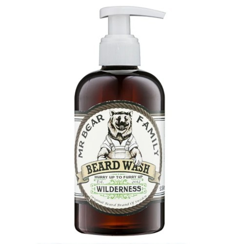 Mr. Bear Šampon na vousy Wilderness (Beard Wash) 250 ml